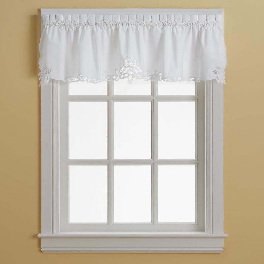 Chf Battenburg Valance White In The Valances Department At Lowes Com