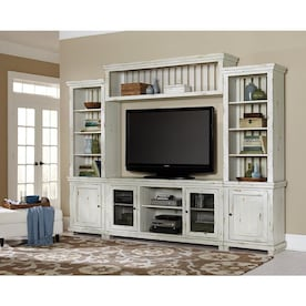 Progressive Furniture Charleston Bone White Tv Stand In The Tv Stands Department At Lowes Com