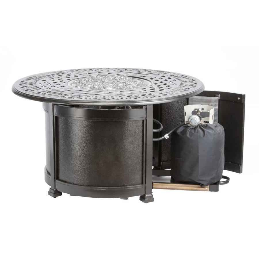 Alfresco Home 54 3008 44 In W 100000 Btu Fern Portable Aluminum Natural Gas Fire Pit In The Gas Fire Pits Department At Lowes Com