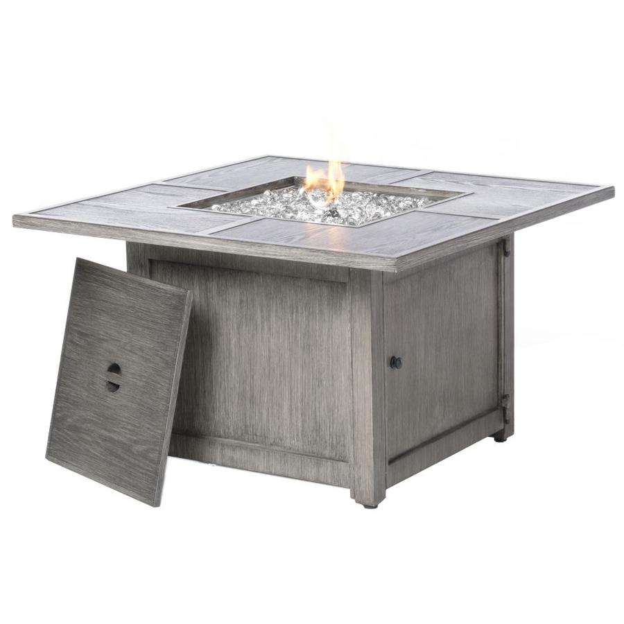 Alfresco Home 55 3015 40 25 In W 100000 Btu Blacksmith Portable Aluminum Natural Gas Fire Pit In The Gas Fire Pits Department At Lowes Com