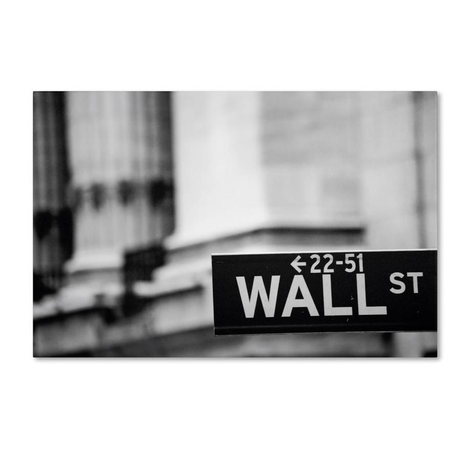 Trademark Fine Art Cityscapes Framed 22 In H X 32 In W Cityscape Canvas Print In The Wall Art Department At Lowes Com