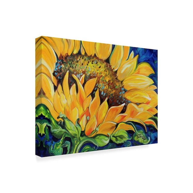 Trademark Fine Art Floral Framed 18 In H X 24 In W Floral Canvas Print In The Wall Art Department At Lowes Com