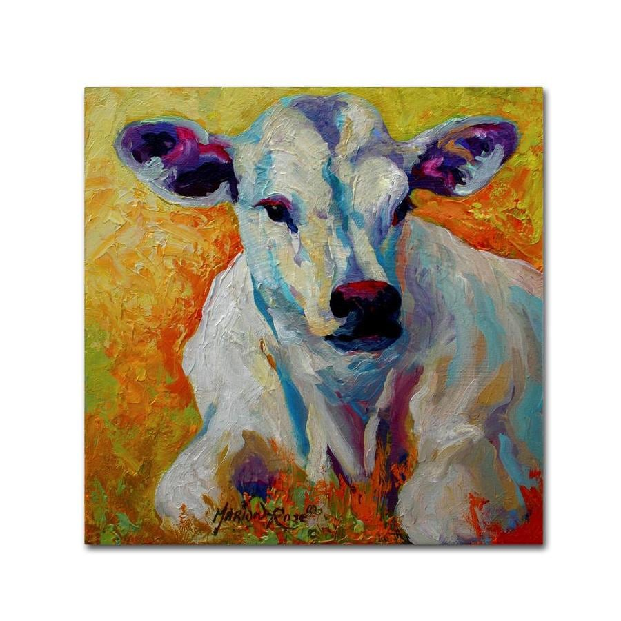 Trademark Fine Art Animals Framed 35 In H X 35 In W Animals Canvas Print In The Wall Art Department At Lowes Com
