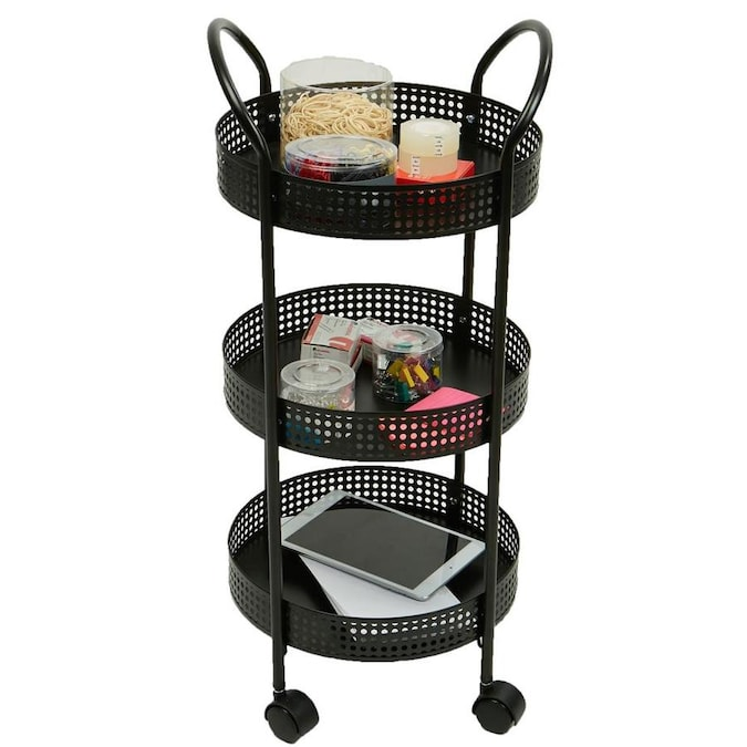 Mind Reader Mind Reader 3-Tier Metal Multi-Purpose Utility