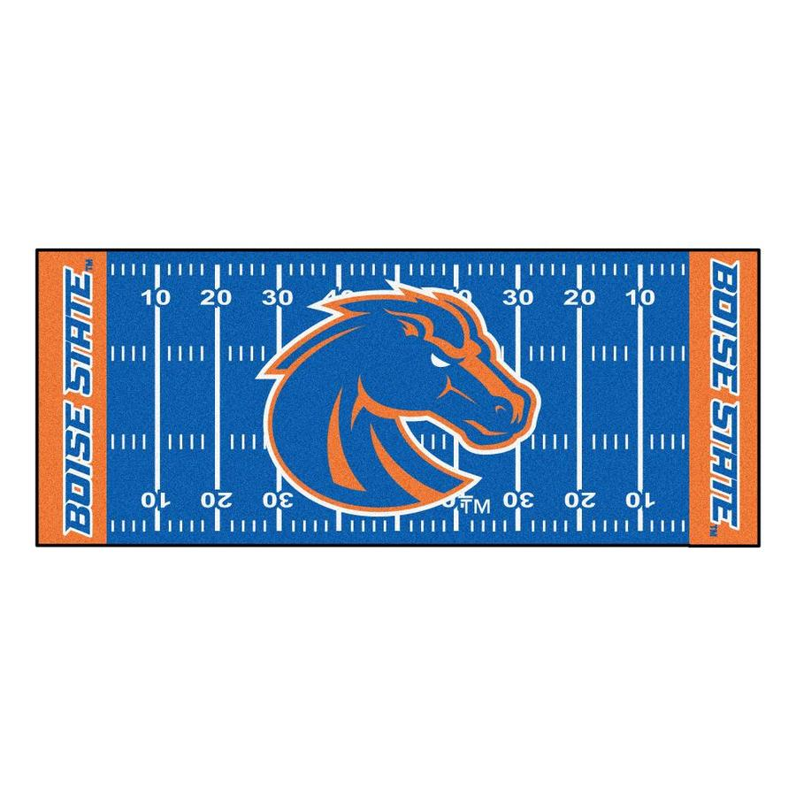 Fanmats Boise State Broncos Ncaa Field Runner 2 X 6 Green Indoor Stripe Runner In The Rugs Department At Lowes Com