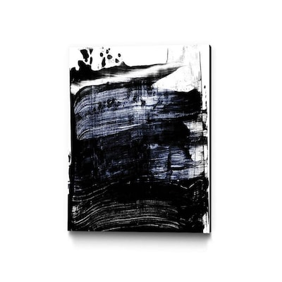 Giant Art Wood Frameless 36 In H X 24 In W Abstract Canvas Print In The Wall Art Department At Lowes Com