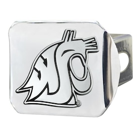 Chrome One Size FANMATS NCAA Washington State Cougars Washington State Universitycolor Hitch Team Color