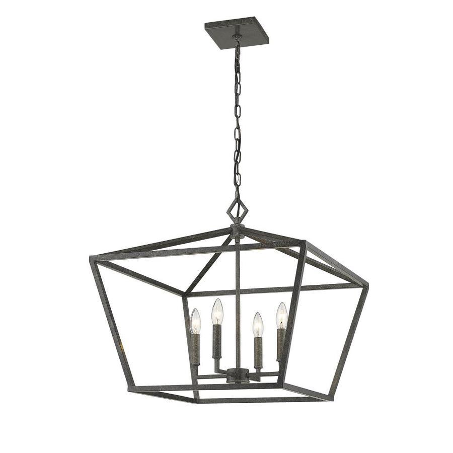 Millennium Lighting Silver Traditional Lantern Pendant Light In The Pendant Lighting Department At Lowes Com