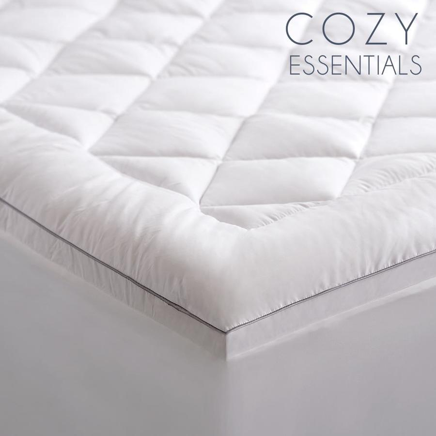 Cozy Essentials 1 In D Polyester Full Hypoallergenic Mattress Topper In The Mattress Covers Toppers Department At Lowes Com