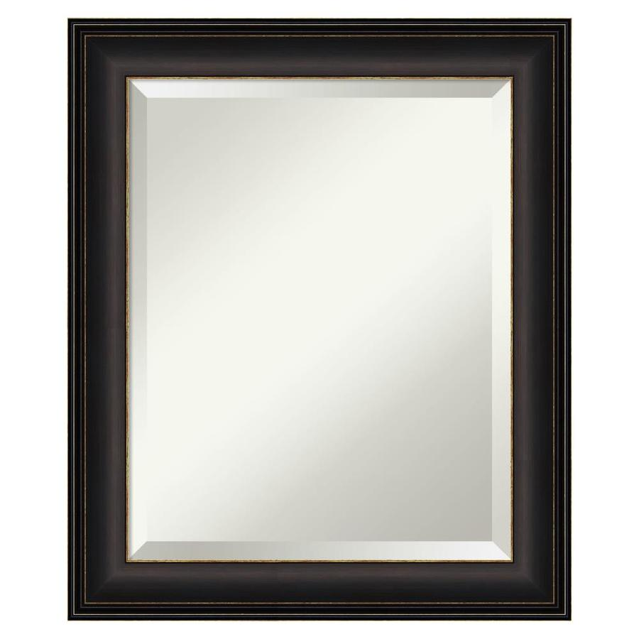 Amanti Art Trio Oil Rubbed Bronze Frame Collection 20 5 In Bronze Gold Rectangular Bathroom Mirror In The Bathroom Mirrors Department At Lowes Com
