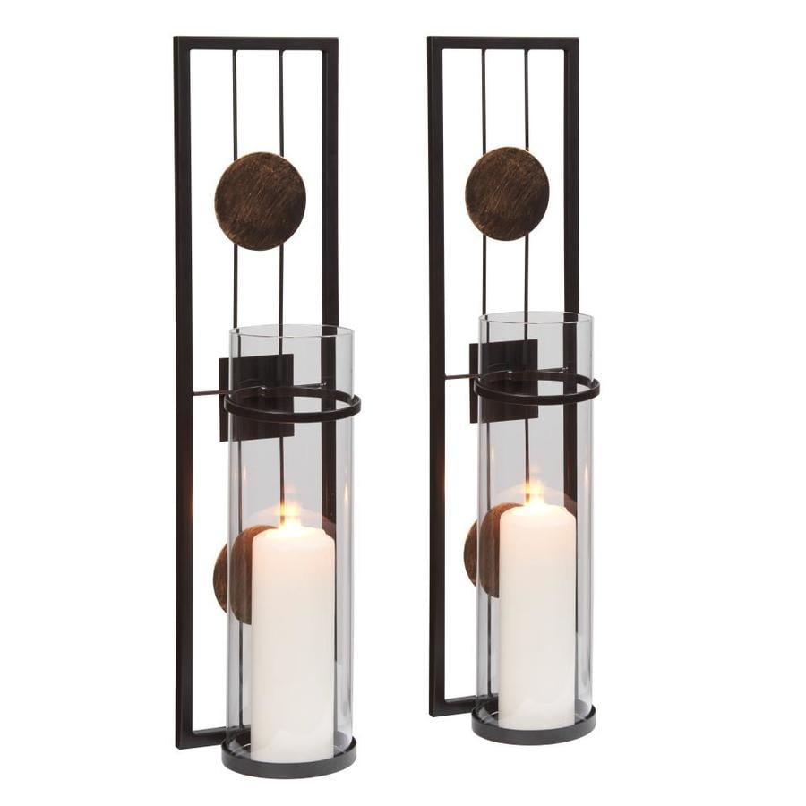 Danya B. Danya B. 10 in. Modern Floating Decorative Metal