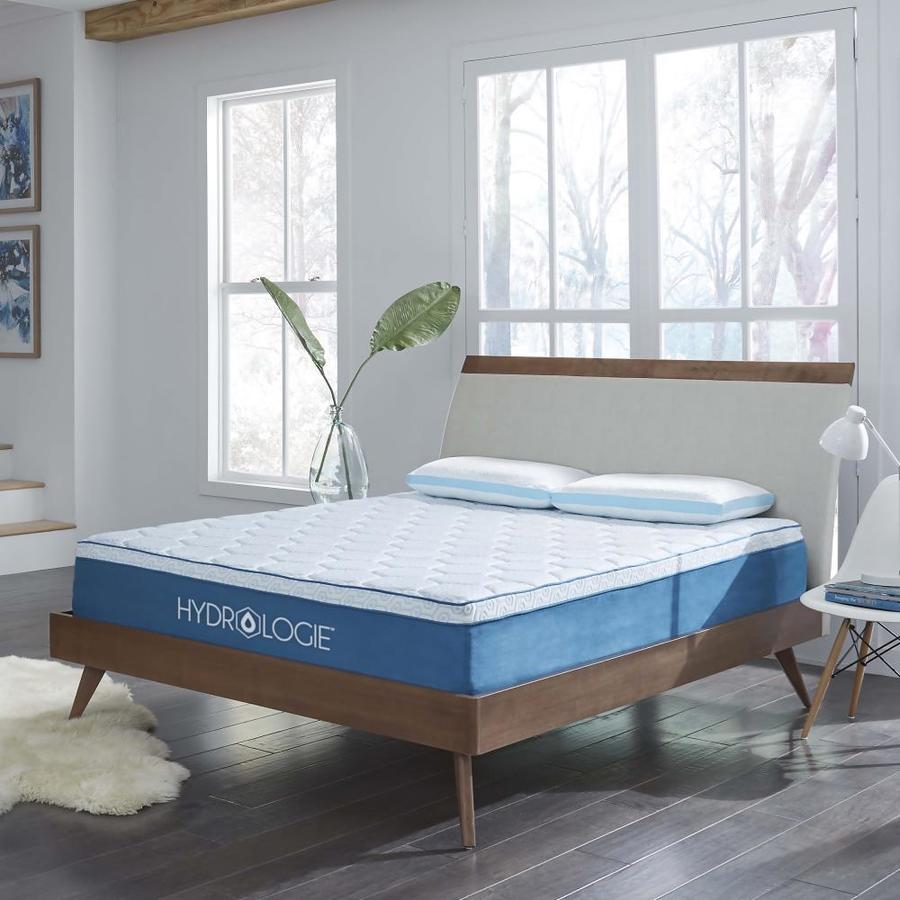 Loftworks Hydrologie 12 In Extra Firm Queen Memory Foam Mattress In The Mattresses Department At Lowes Com