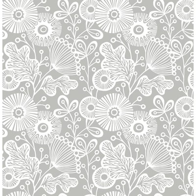 Nuwallpaper Floral Wallpaper At Lowes Com