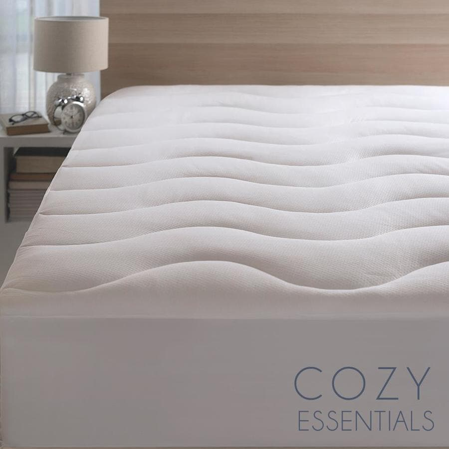 Cozy Essentials 13 In D Polyester King Hypoallergenic Mattress Cover In The Mattress Covers Toppers Department At Lowes Com