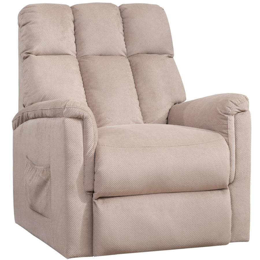 CASAINC Power Lift Chair Soft Fabric Recliner Lounge Living Room Sofa with Remote Control