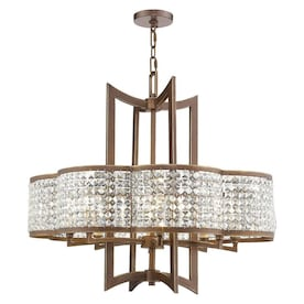 Livex Lighting Grammercy 6 In W 1 Light Hand Applied Palacial Bronze Transitional Wall Sconce In The Wall Sconces Department At Lowes Com
