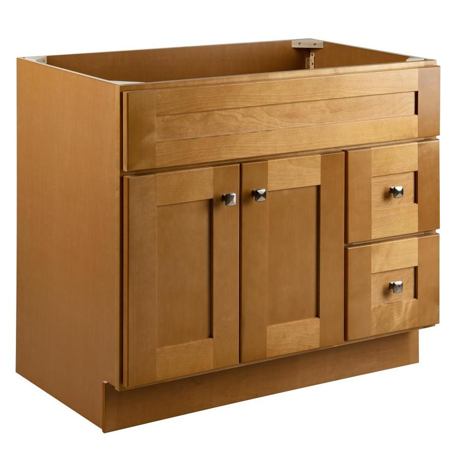Design House Brookings 36 In Modern Birch Bathroom Vanity Cabinet In The Bathroom Vanities Without Tops Department At Lowes Com