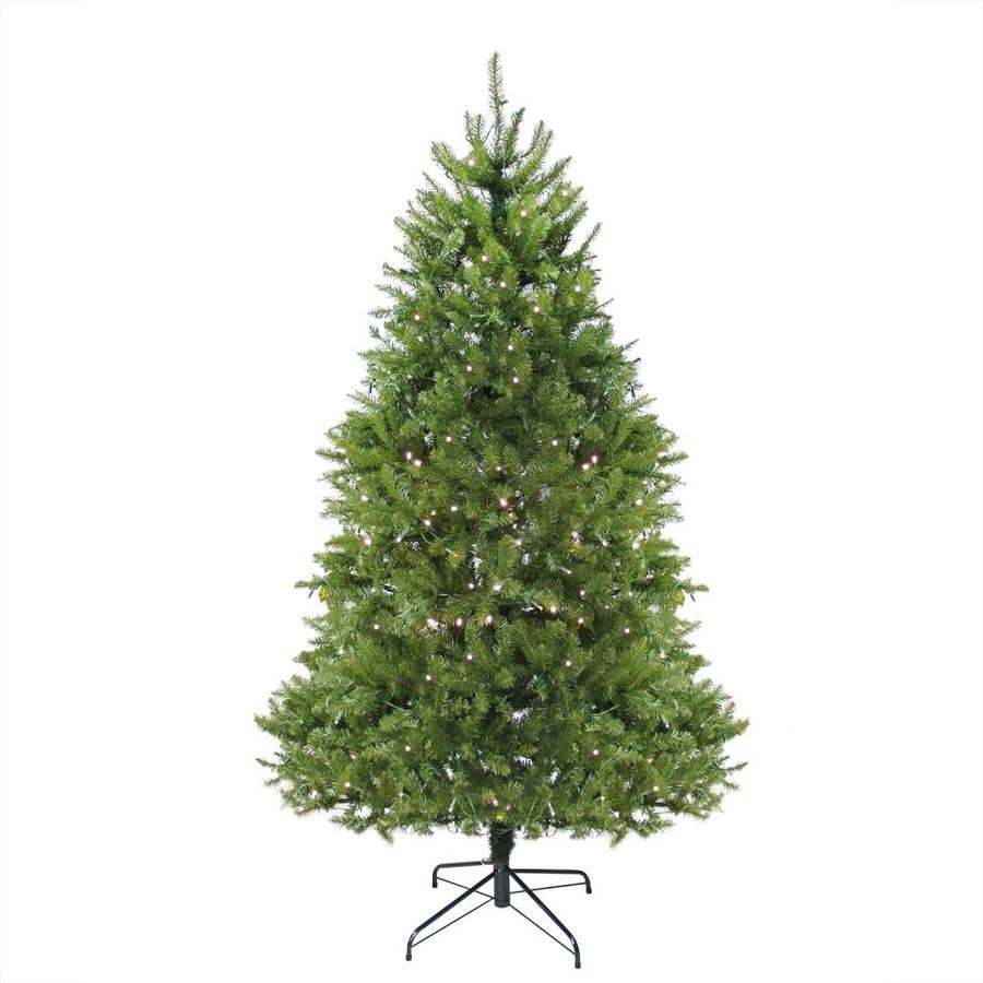 Northlight 12 Ft Pine Pre Lit Traditional Artificial Christmas Tree With 1200 Constant Warm White Incandescent Lights In The Artificial Christmas Trees Department At Lowes Com