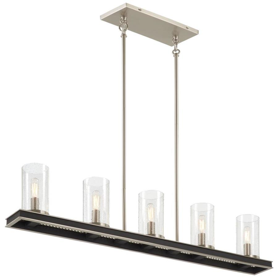 Minka Lavery Cole S Crossing 5 Light Black Modern Contemporary Vanity Light Bar In The Vanity Lights Department At Lowes Com