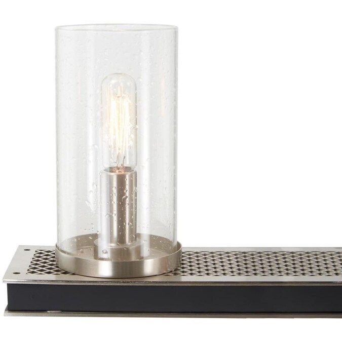 Minka Lavery Cole S Crossing 6 Light Coal With Brushed Nickel Modern Contemporary Chandelier In The Chandeliers Department At Lowes Com