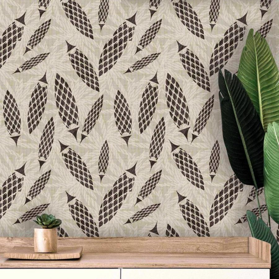 Design Is Personal Dip Azucal Peel And Stick Wallpaper 18 Ft X 20 5 In Roll In The Wallpaper Department At Lowes Com