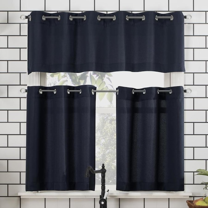 Grommet Kitchen Curtain Valance