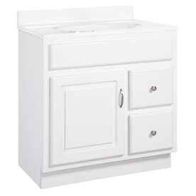 Diamond Now Denver 30 In Natural Hickory Bathroom Vanity Cabinet In The Bathroom Vanities Without Tops Department At Lowes Com