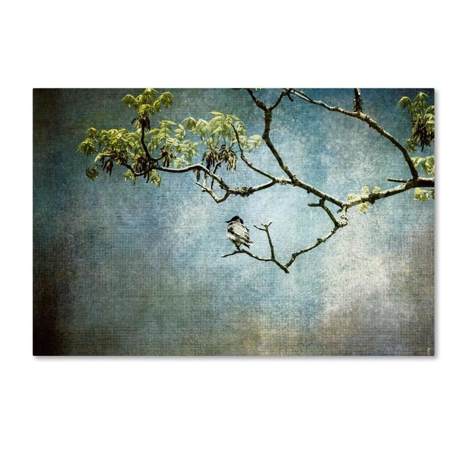 Trademark Fine Art Jai Johnson Lucky Bird 30x47 Canvas Art In The Wall Art Department At Lowes Com