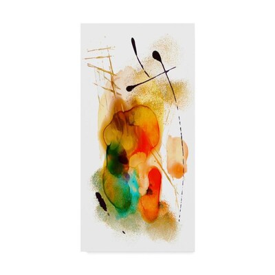 Trademark Fine Art Masters Fine Art Inabstract Number 11 In 16x32 Canvas Art In The Wall Art Department At Lowes Com