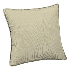 Brielle Home Stream Sage Euro Polyester Pillow Case In The Pillow Cases Department At Lowes Com