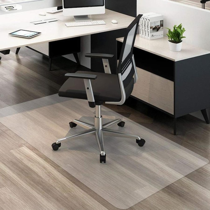 Direct Wicker Home Office Premium Office Chair Mat Clear