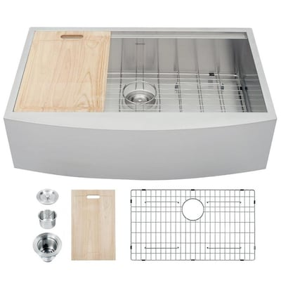 Farmhouse Sink Kitchen Sinks At Lowes Com