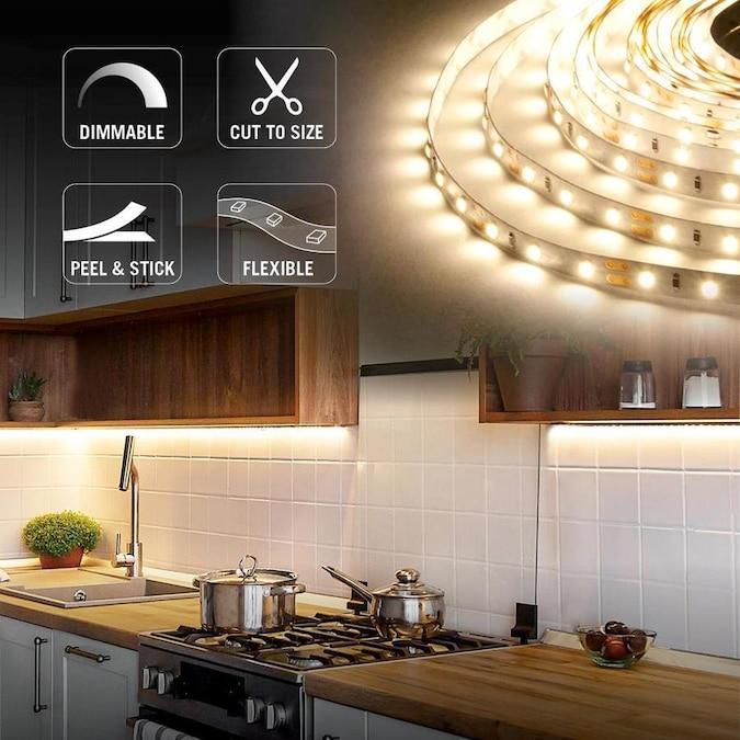 Armacost Lighting Soft White, 30 LEDs/M, 32.8-ft (10M