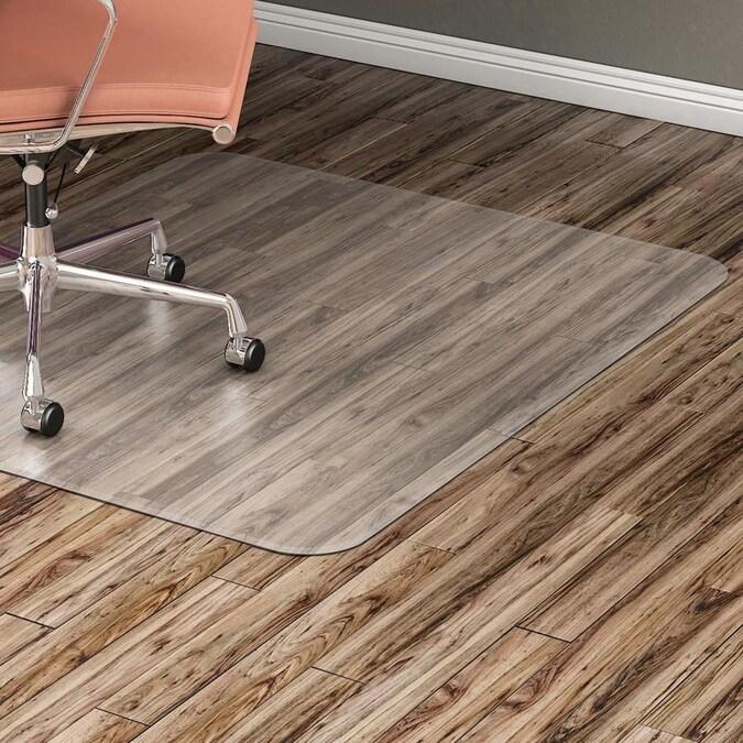 Ft Clear Rectangular Indoor Chair Mat