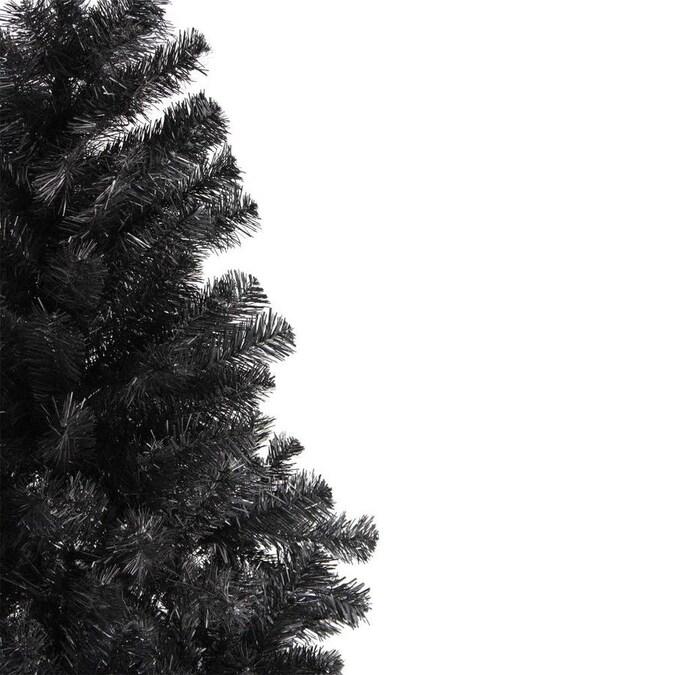 Northlight 6-ft Black Colorado Spruce Artificial Christmas ...