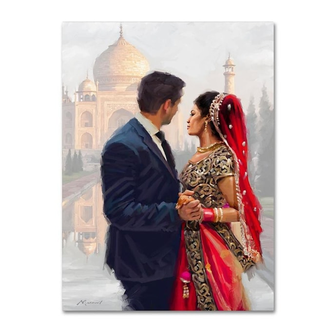 Trademark Fine Art The Macneil Studio Couple 35x47 Canvas Art In The Wall Art Department At Lowes Com