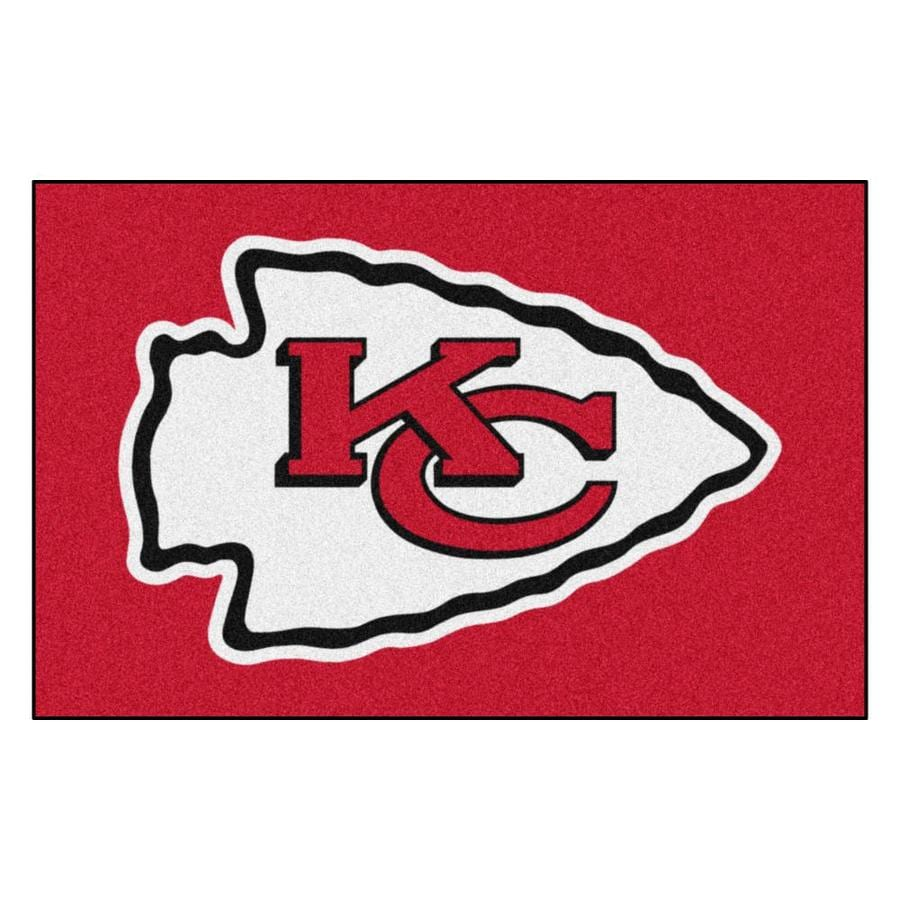Fanmats Kansas City Chiefs Nfl Starter Mat 1 1 2 X 2 1 2 Red Indoor Sports Throw Rug In The Rugs Department At Lowes Com