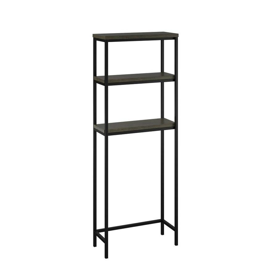 Ameriwood Home System Build Generation Cherry 3 Tier Composite Freestanding Bathroom Shelf In The Bathroom Shelves Department At Lowes Com