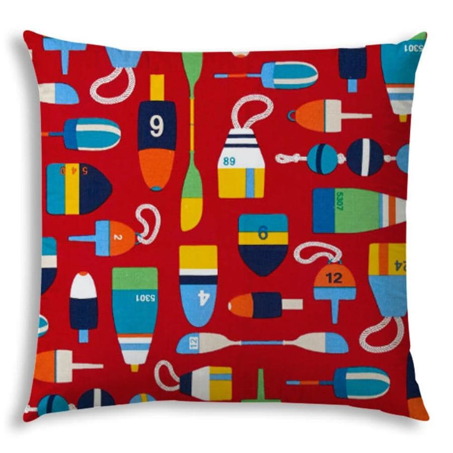 Joita 19 1 2 In X 19 1 2 In Polyester Square Indoor Decorative Cover In The Throw Pillows Department At Lowes Com