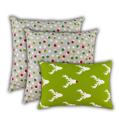 Joita 19 In X 19 In 100 Cotton Square Indoor Decorative Cover In The Throw Pillows Department At Lowes Com