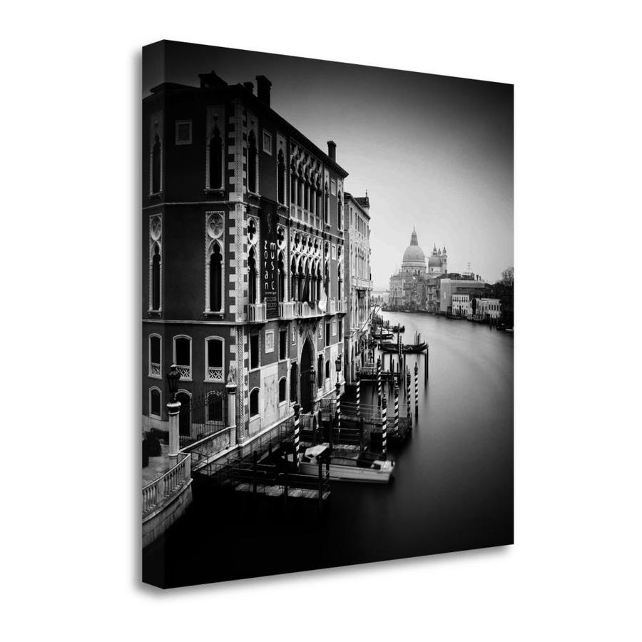 Tangletown Fine Art Canal Grande I By Nina Papiorek Fine Art Giclee Print On Gallery Wrap Canvas Ready To Hang In The Wall Art Department At Lowes Com