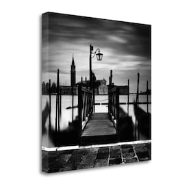 Tangletown Fine Art Frameless 39 In H X 20 In W Cityscape Canvas Print In The Wall Art Department At Lowes Com