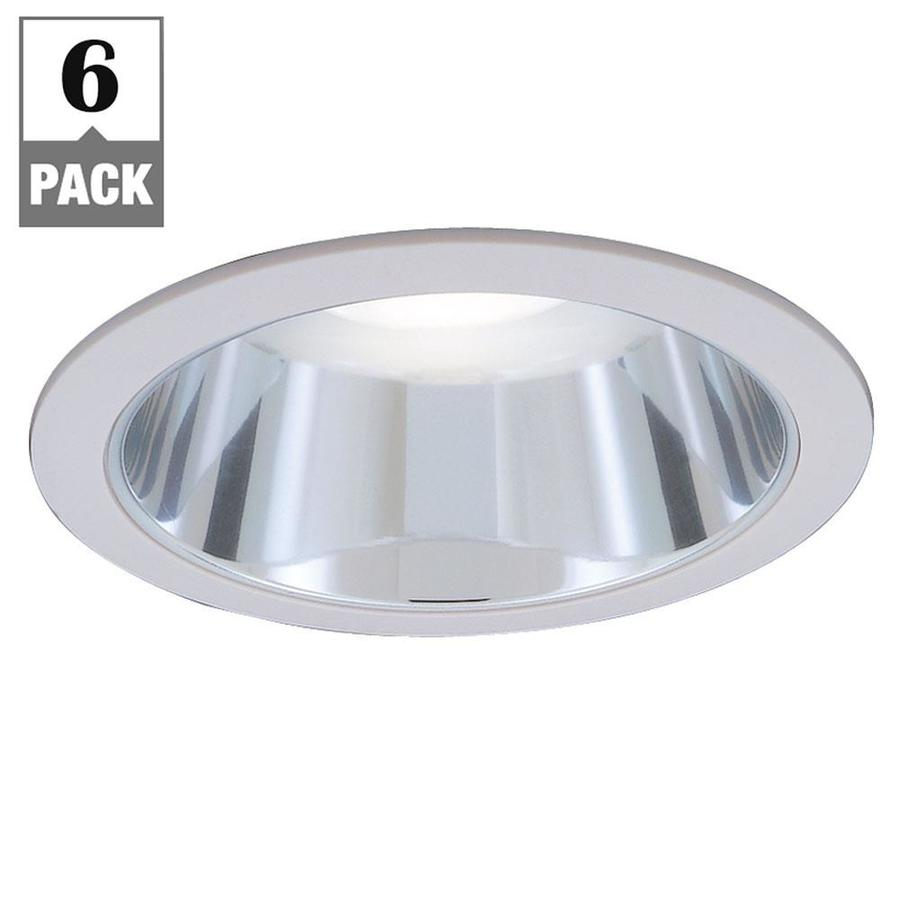 Designers Fountain 6 In Chrome Reflector Recessed Light Trim In The Recessed Light Trim Department At Lowes Com