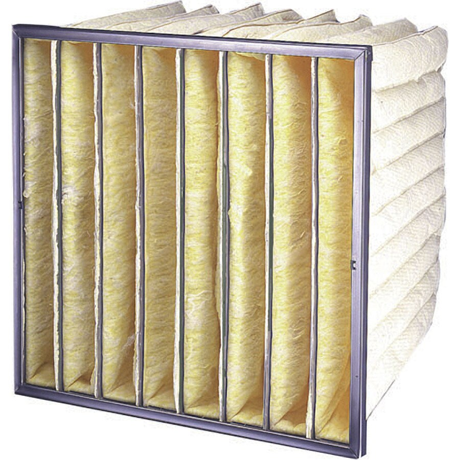 Flanders 4-Pack 20-in x 20-in x 15-in Bag Ready-to-Use Industrial HVAC Filter
