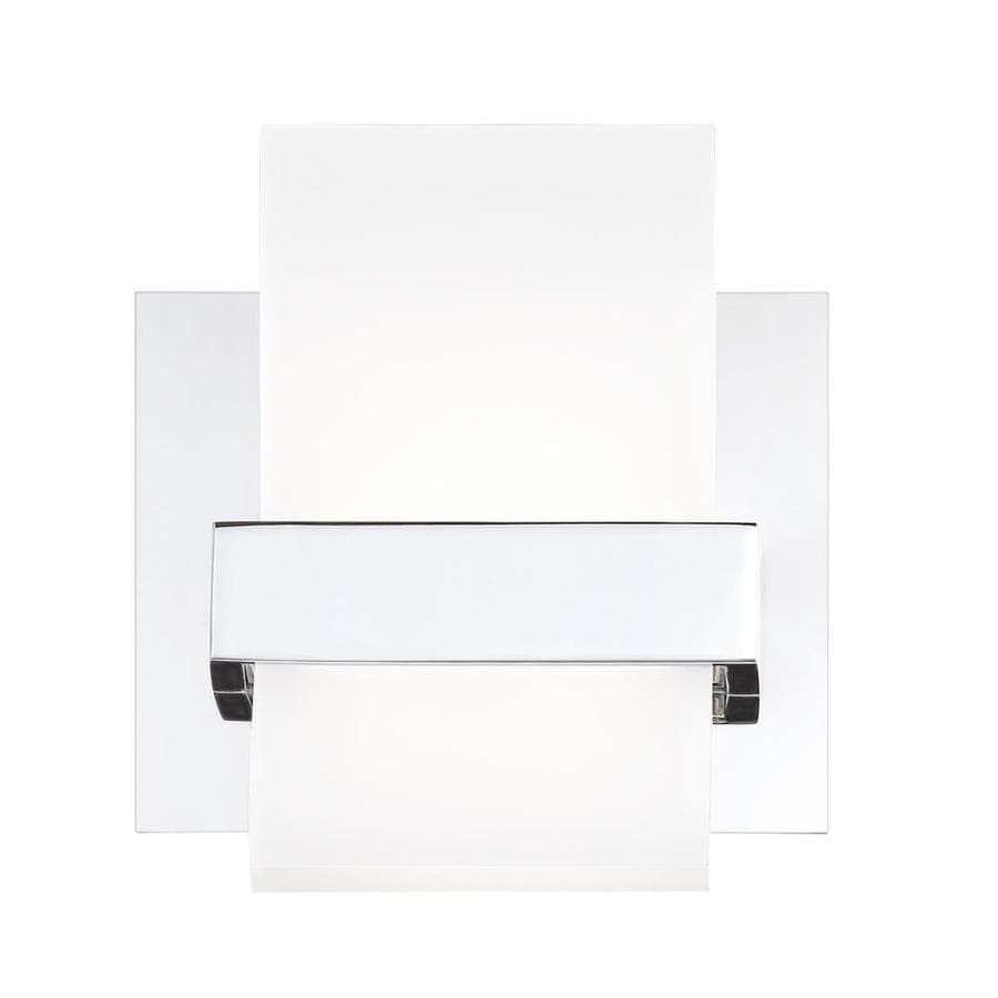 Eurofase Cambridge 6 25 In W 1 Light Chrome Modern Contemporary Wall Sconce In The Wall Sconces Department At Lowes Com