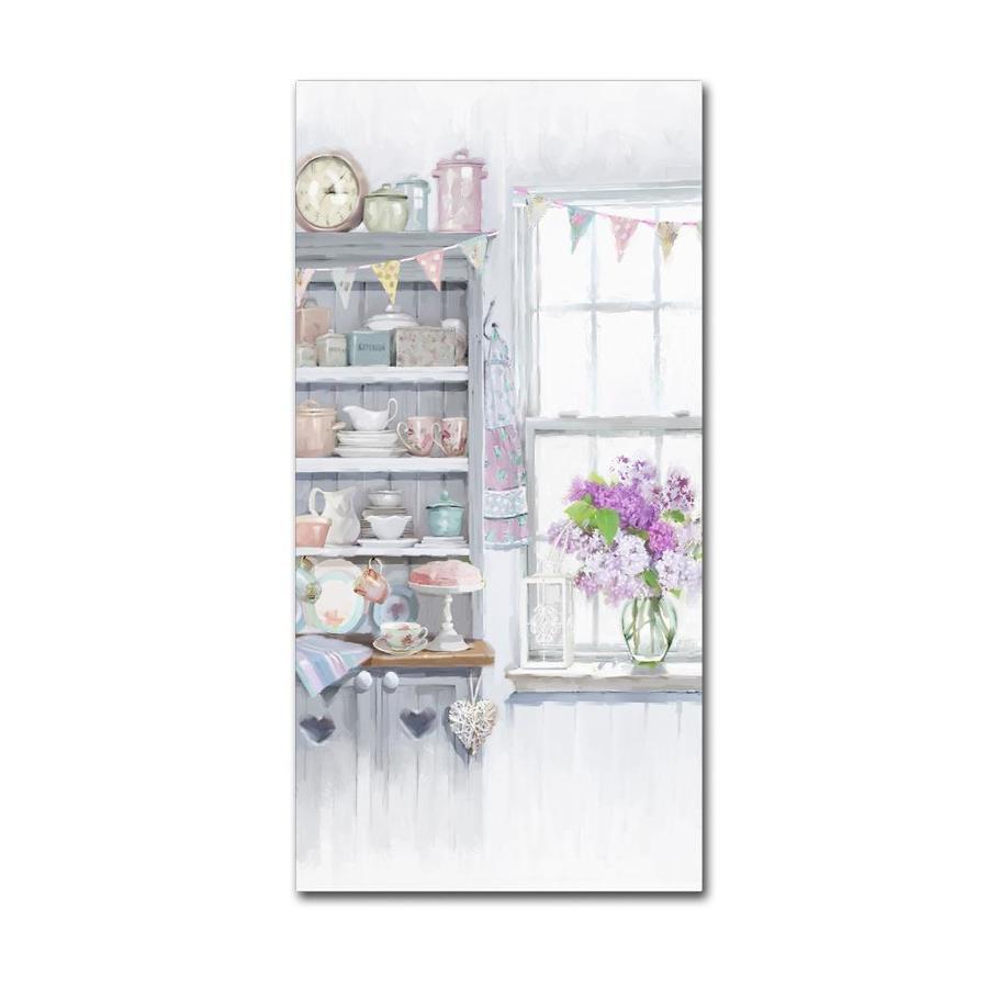Trademark Fine Art The Macneil Studio Kitchen Dresser 16x32 Canvas Art In The Wall Art Department At Lowes Com