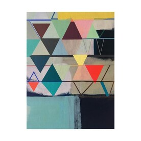 Trademark Fine Art Sylvie Demers Klee Words 22x32 Canvas Art In The Wall Art Department At Lowes Com