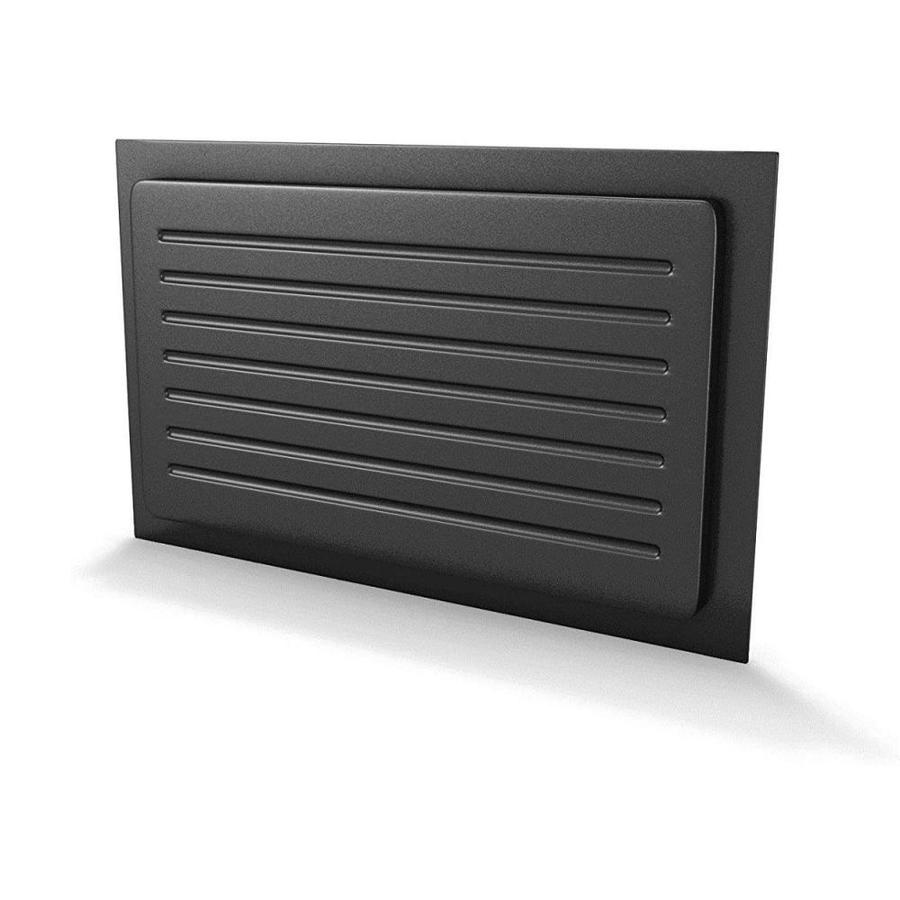 Crawl Space Door Systems Crawl Space Vent Cover Outward Mounted 10 In Height X 18 In Width Black In The Foundation Vent Covers Department At Lowes Com