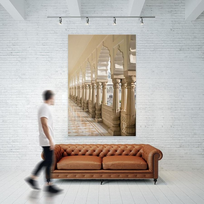 Giant Art Through The Chakras I Fine Art Giant Canvas Print In The Wall Art Department At Lowes Com