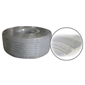 Water Suction Hose 1inx100ft Clear//Whit